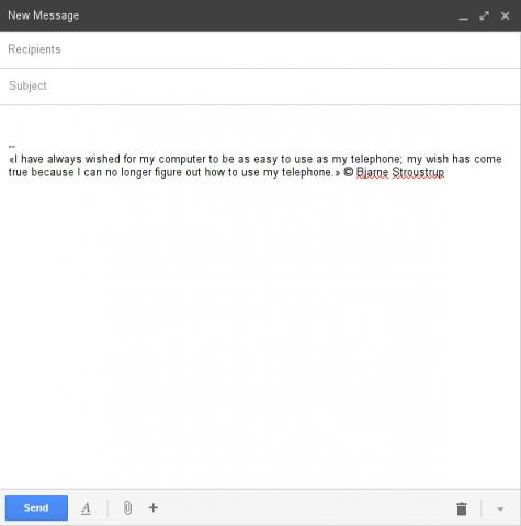 OK… Here's another way to add random signatures to Gmail